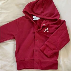 Other - Alabama Crimson Tide sweatshirt hooded jacket